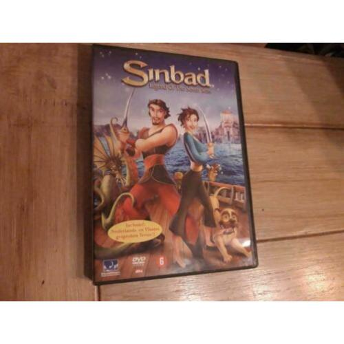 DVD Sinbad - legend of the seven seas