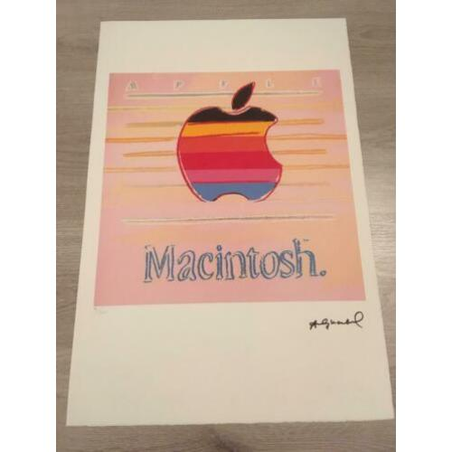 Litho Andy Warhol - Apple Macintosh