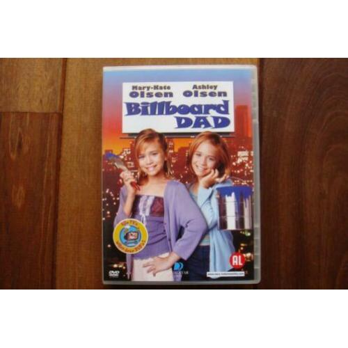 Billboard dad dvd olsen twins NIEUW €3,95