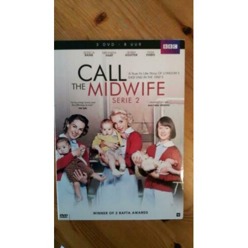 Dvd's. Call The Midwife. The prince and the pauper. Garrow's